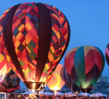 Balloon Glow - Midwest Balloon Fest Sticker