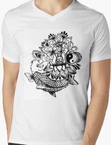 Life Mens V-Neck T-Shirt