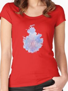 P R I M E Snowflake Women's Fitted Scoop T-Shirt