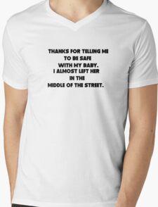 sarcastic dad Mens V-Neck T-Shirt