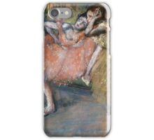 Edgar Degas - Two Dancers By A Hearth iPhone Case/Skin