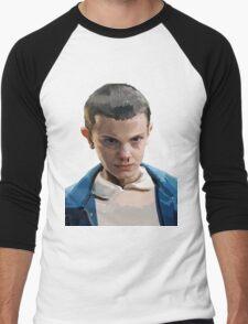 Stranger Things Eleven Artwork Men's Baseball ¾ T-Shirt