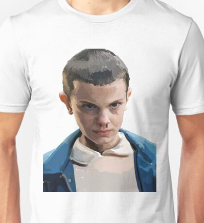 Stranger Things Eleven Artwork Unisex T-Shirt