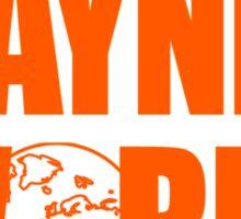 Waynes World logo Sticker