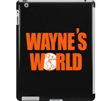 Waynes World logo iPad Case/Skin