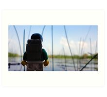 Lego Lake Art Print