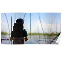 Lego Lake Poster