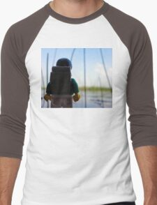Lego Lake Men's Baseball ¾ T-Shirt
