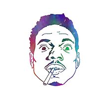 Chance The Rapper Colours by coolGEORGE