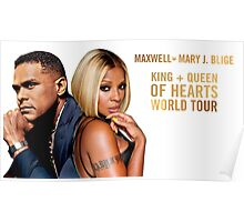 maxwell-mary j blige tour 2016 Poster