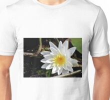Fragrant Water Lily V Unisex T-Shirt