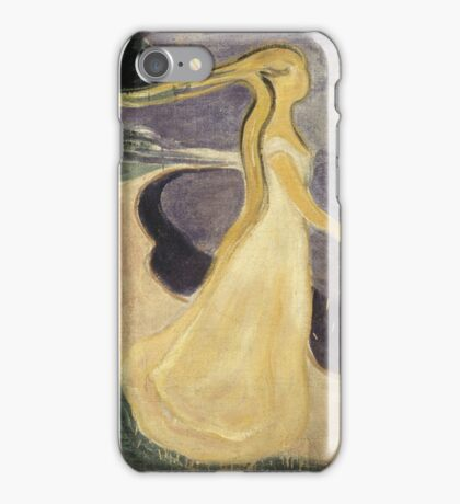 Edvard Munch - Separation iPhone Case/Skin
