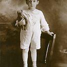 Little Boy Child with Teddy Bear by LouiseK