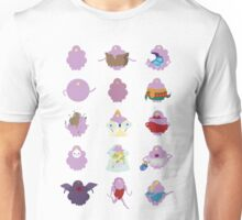 Shades of Lumpy Space Princess Unisex T-Shirt