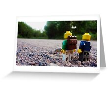 Small Walk Greeting Card