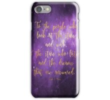 To the Stars - ACOMAF iPhone Case/Skin