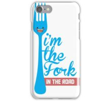 Fork in the road iPhone Case/Skin