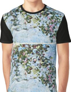 Claude Monet - Roses 1825  Graphic T-Shirt