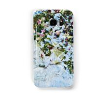 Claude Monet - Roses 1825  Samsung Galaxy Case/Skin