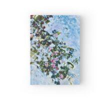 Claude Monet - Roses 1825  Hardcover Journal
