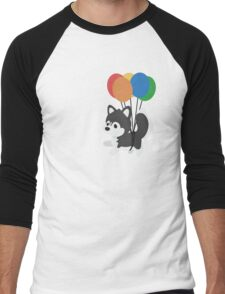 Balloon Husky Men's Baseball ¾ T-Shirt