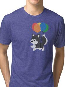 Balloon Husky Tri-blend T-Shirt