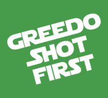 Greedo Shot First Kids Clothes