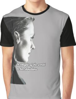 Kate Beckett weight of the world Graphic T-Shirt