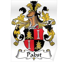 Pabst Coat of Arms (German) Poster