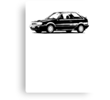 MAZDA 323 Turbo 4x4 1985 - 89 Canvas Print
