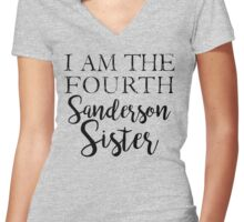 I am the Fourth Sanderson Sister Women's Fitted V-Neck T-Shirt