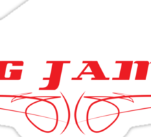 fig jams 'VH commo Sticker
