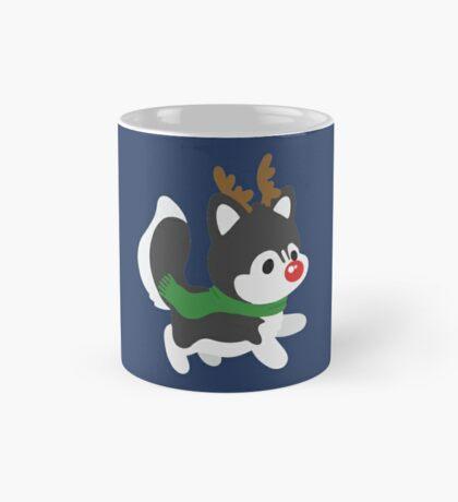 Reindeer Husky Mug