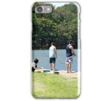 Fishing on the Hawksbury iPhone Case/Skin