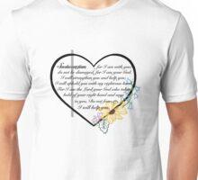 Isaiah 41:10-13 Unisex T-Shirt