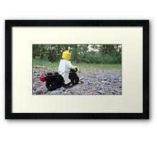Lego Bike Framed Print