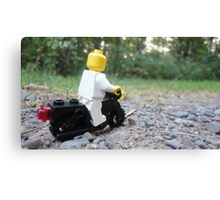 Lego Bike Canvas Print