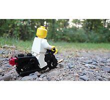 Lego Bike Photographic Print