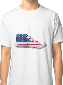 Hi Top Basketball Shoe United States Classic T-Shirt