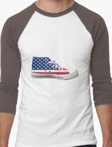 Hi Top Basketball Shoe United States Men's Baseball ¾ T-Shirt