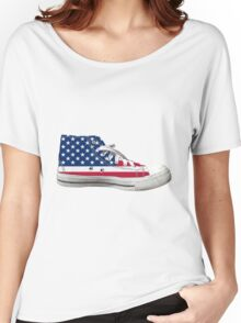 Hi Top Basketball Shoe United States Women's Relaxed Fit T-Shirt