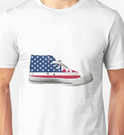 Hi Top Basketball Shoe United States Unisex T-Shirt
