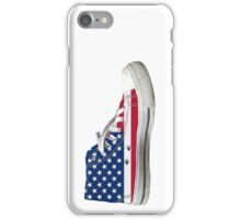 Hi Top Basketball Shoe United States iPhone Case/Skin