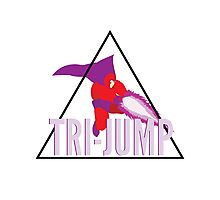 Magneto Tri-Jump Photographic Print