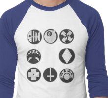 Skullgirls Icons Men's Baseball ¾ T-Shirt