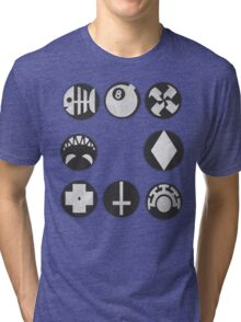 Skullgirls Icons Tri-blend T-Shirt
