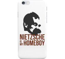 Nietzsche is My Homeboy iPhone Case/Skin