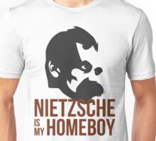 Nietzsche is My Homeboy Unisex T-Shirt