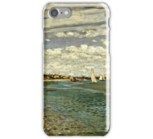 Claude Monet - Regatta At Sainte-Adresse 1867  iPhone Case/Skin