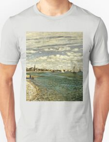Claude Monet - Regatta At Sainte-Adresse 1867  Unisex T-Shirt